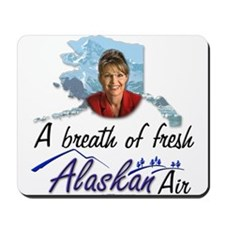 Breath of Fresh Alaskan Air Mousepad