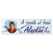 Breath of Fresh Alaskan Air Bumper Bumper Sticker