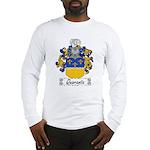 Quaranta Family Crest Long Sleeve T-Shirt