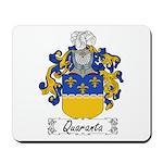 Quaranta Family Crest Mousepad