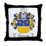 Quaranta Family Crest Throw Pillow