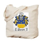 Quaranta Family Crest Tote Bag