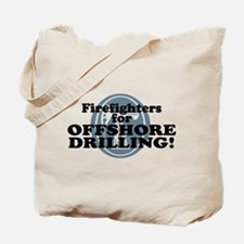 Firefighters For Offshore Drilling Tote Bag
