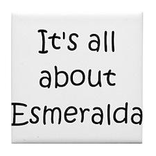 Unique Esmeralda Tile Coaster