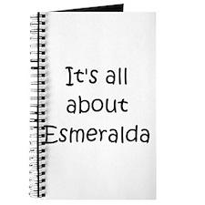 Funny Esmeralda Journal