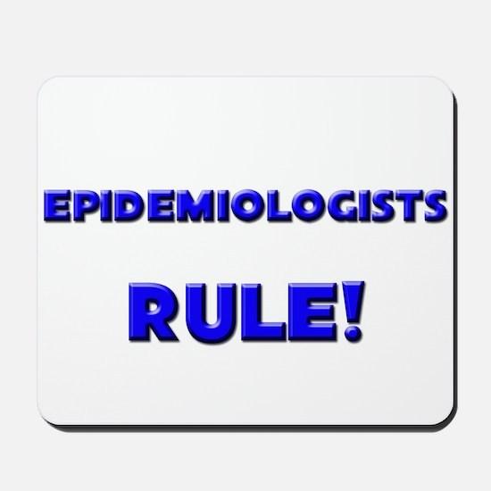 Epidemiologists Rule! Mousepad