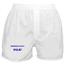 Epidemiologists Rule! Boxer Shorts