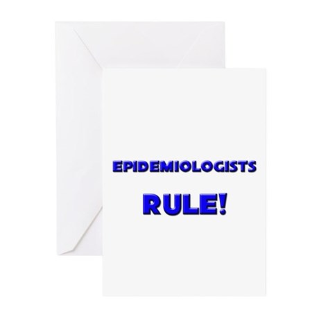 Epidemiologists Rule! Greeting Cards (Pk of 10)