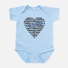IMAGINE HEART Infant Bodysuit