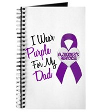 I Wear Purple For My Dad 18 (AD) Journal