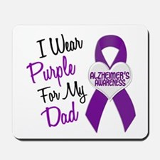 I Wear Purple For My Dad 18 (AD) Mousepad