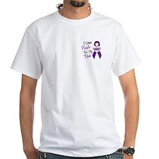I Wear Purple For My Dad 18 (AD) Shirt