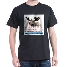 Moose Lips Sinks Ships T-Shirt