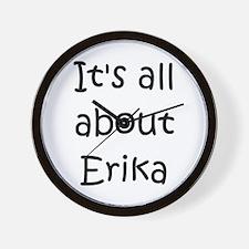 Cool Erika Wall Clock
