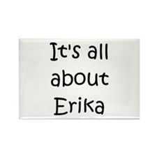 Cute Erika Rectangle Magnet
