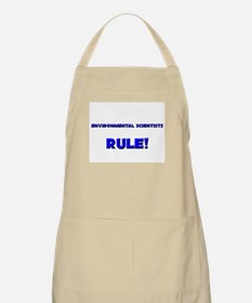 Environmental Scientists Rule! BBQ Apron