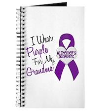 I Wear Purple For My Grandma 18 (AD) Journal