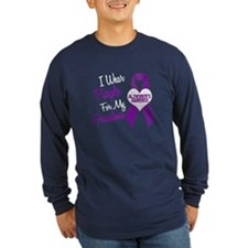 I Wear Purple For My Grandma 18 (AD) T