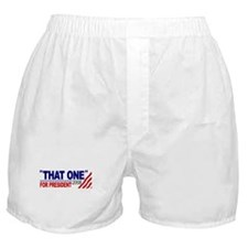 That One for President (Obama Debate) Boxer Shorts
