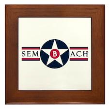 Sembach Air Base Framed Tile