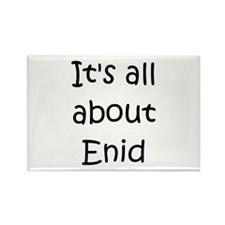 Cool Enid Rectangle Magnet