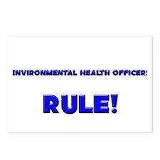 Environmental Health Officers Rule! Postcards (Pac