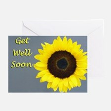 Sunflower Get Well Cards (Pk of 10)
