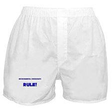 Environmental Consultants Rule! Boxer Shorts