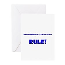Environmental Consultants Rule! Greeting Cards (Pk