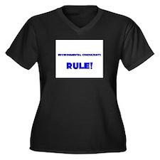 Environmental Consultants Rule! Women's Plus Size