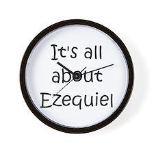 Unique Ezequiel Wall Clock