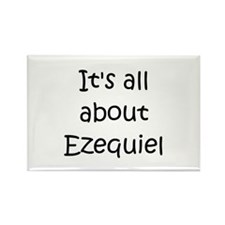 Unique Ezequiel Rectangle Magnet