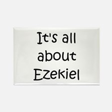 Funny Ezekiel Rectangle Magnet