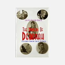 Unique Deborah Rectangle Magnet