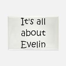 Cute Evelin Rectangle Magnet