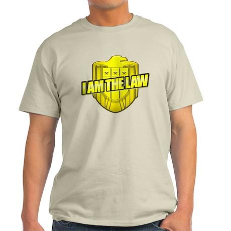 I AM THE LAW: Judge Dredd Light T-Shirt