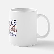 Obama (Palin Cheney Lipstick) Mug