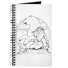 Ink Bear Totem Journal