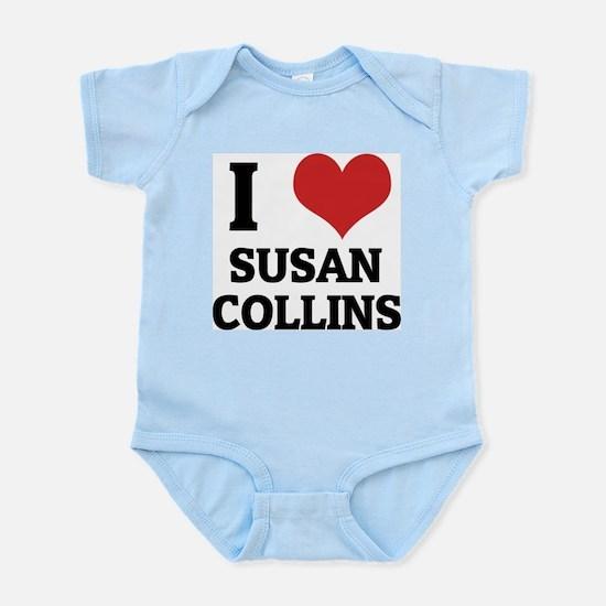 I Love Susan Collins Infant Creeper