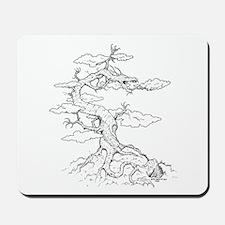 Ink Dragon Tree Mousepad