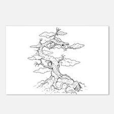 Ink Dragon Tree Postcards (Package of 8)