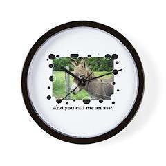 Ass Wall Clock