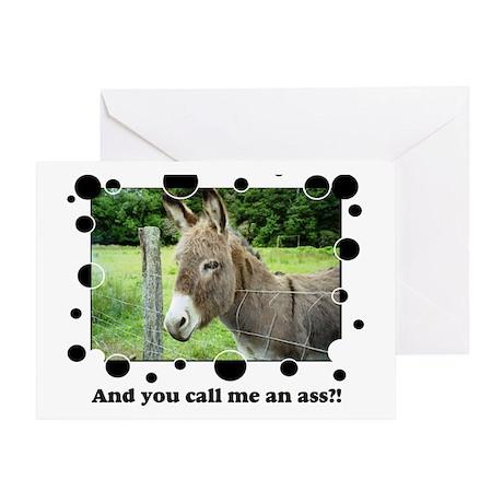Ass Greeting Card