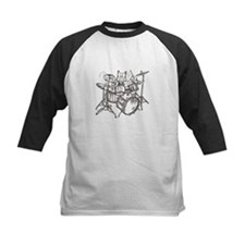 Catoons drums cat Tee