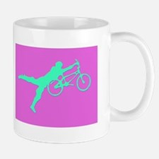 PINK GREEN BMX Mug