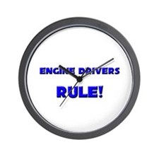 Engine Drivers Rule! Wall Clock