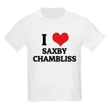I Love Saxby Chambliss Kids T-Shirt