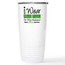 I Wear Lime Green Husband Travel Mug