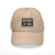 Beware Dog Baseball Cap
