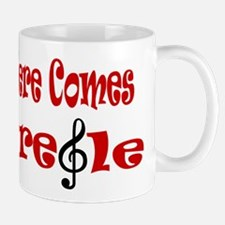 Here Comes Treble Mug